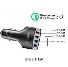 Nơi bán Tẩu Sạc Nhanh Ô Tô Sạc Xe Hơi 4 cổng USB 3.5A Cốc Sạc Nhanh Quick  Chagre 3.0 Xe Hơi BKS4U Xịn Bảo Hành 12 Tháng giá rẻ 59.000₫