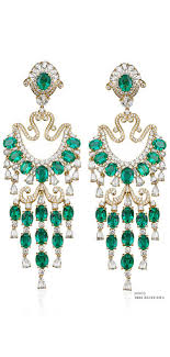 living extraordinary emerald chandelier earrings 15 pretty 13 diamond emerald crystal chandelier earrings