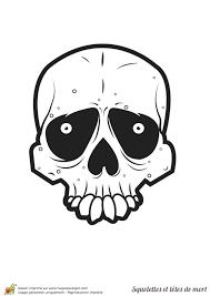 Coloriage Squelettes Et T Tes De Mort Sur Hugolescargot Com