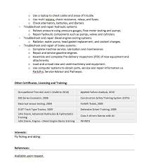 Aircraft Mechanic Resume Examples Pin By Ririn Nazza On Free Resume Sample Free Resume