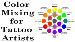 Colors To Mix To Make Light Brown Color Theory Ink Mixing For Tattoo Artists