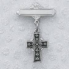 this celtic irish baptism pin will be a hit with your irish family members it can be for a boy or a