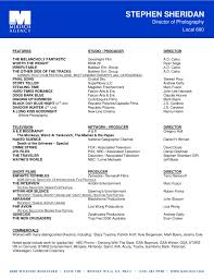 Beautiful Film Director Resume Pictures - Simple resume Office .