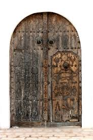 very old door on the white background from the tunisia stock photo colourbox