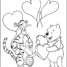 Small Picture Disney Valentines Day Printable Coloring Pages Disney Book