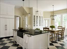 luxurious black and white kitchen floo0048