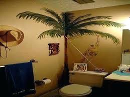 palm tree bathroom decor ideas rugs bath rug set decoration mat decorating theme
