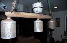 rustic billiard light fixture