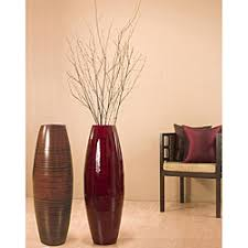 Bamboo 36-inch Cylinder Vase with Birch Branches | Overstock.com Shopping -  Great