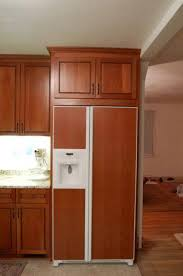 built in refrigerator cabinet. Do You Have A Refrigerator Cabinet For Non Built In Fridge Throughout Decor 13 O