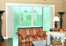 sliding glass door tint privacy large image for home depot
