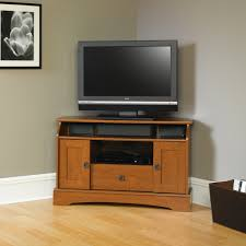 tall wood corner tv stand cabinet with doors superb designs ideas of tall corner tv