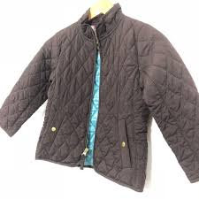 Lands End Jacket Size Chart Lands End Little Girl Size M 5 6 Quilted Coat