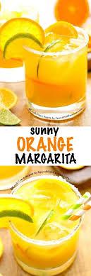 this sunny orange margarita recipe is great a little sweet a little tart