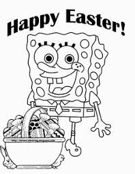 Small Picture spongebob easter coloring pages Cartoon Pinterest Easter