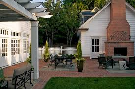 outdoor brick fireplace patio traditional with brick brick fireplace brick image by bruce clodfelter and associates