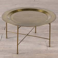 antique brass plated round coffee table end set homesense area rugs medium wood tables charging station
