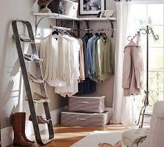 clothing rack diy apartment decor