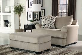 Living Room Chair With Ottoman Furniture Oversized Chairs With Ottoman Chair And A Half With