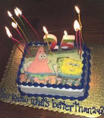 25th Birthday Cake Spongebob Themed Birthdays In 2019 25th