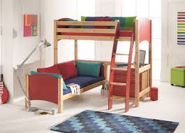 Scallywags Bedroom Furniture Cresta Scallywag Kids L Shaped Bunk Bed Bed Post