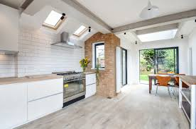 Best wood flooring for kitchen Ideas Because This Is Natural Product It Can Contract And Expand As Temperature Or Moisture Levels Rise This Becomes An Issue In Large Kitchens Where Steam Reclaimed Flooring Company The Best Wood Flooring For Kitchens The New Reclaimed Flooring