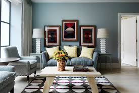 Blue paint ideas for living rooms - small or large, modern or classic - we