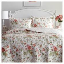 Coral Pink Breezy Floral Quilt Set - Laura Ashley® : Target & Coral Pink Breezy Floral Quilt Set - Laura Ashley® Adamdwight.com