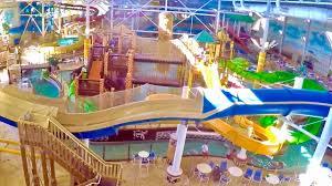 wisconsin dells kalahari indoor waterpark theme park tour