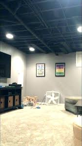Unfinished basement lighting Unique Unfinished Basement Ceiling Lighting Ideas Drop Amazing Low Decoration Best On Ceilings And Cheap Bas Basement Lighting Home Improvement Stack Exchange Basement Lighting Ideas Unfinished Ceiling Industrial Idea