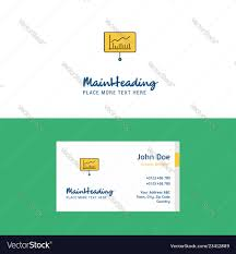 Logo Design Concept Presentation Flat Presentation Logo And Visiting Card Template