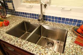 diy recycled glass countertops modern kitchen 2017 collection in recycled kitchen countertops