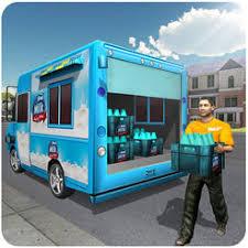 Milk Delivery Van Trailer Truck Driver On The App Store