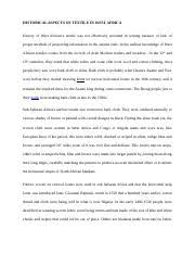 obstacles to critical and creative thinking essay introduction  2 pages historical aspects of textile in west africa essay