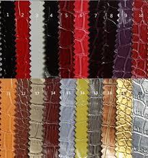 pvc high gloss crocodile grain handbag faux leather sofa decoration leather material leather upholstery fabric
