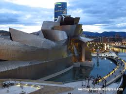 View of the Guggenheim Bilbao from La Salve Bridge