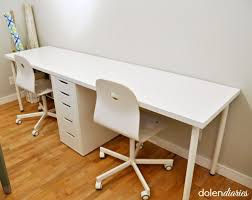 Corner Desk For Two Computers Best 25 Two Person Desk Ideas On Pinterest 2  Person Desk Desk Computer Desks For Gamers