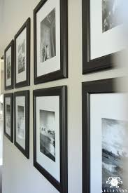 black picture frames wall. Black And White Travel Gallery Wall With Frames Mats Picture