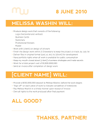 Contract Clauses You Should Never Freelance Without Freelance Design Contract Example Layouts 1