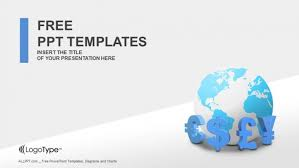 Global Currencies Powerpoint Templates