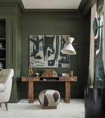 green wall paintThe 25 best Olive green rooms ideas on Pinterest  Olive green