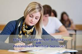 assignment writing student preferences in class or service in class assignment writing or assignment writing service