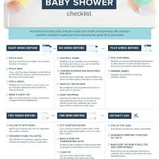 Sample Baby Shower Checklist Ideas Baby Shower Gift Checklist Printable Present Planner Registry 19