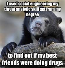 Analytic Skill I Used Social Engineering My Threat Analytic Skill Set From