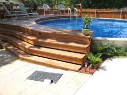 get inspired the best above ground pool designs ground pools and decking