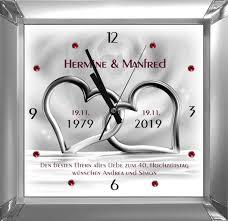 Rubinhochzeit Geschenk Zum 40 Hochzeitstag M1