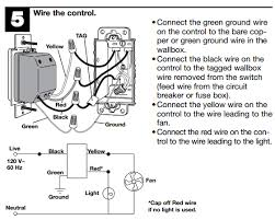 electrical how do i know if a ceiling fan light and the wiring diagram from installation guide