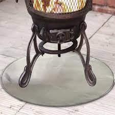 60cm Fireproof Mat Fire Pit Mat Fire Pit Pad Deck Protector Great For Deck Uk Ebay
