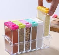 6 Pieces Kitchen Spice Jar Priyoshop Com Online Shopping In