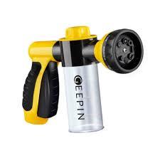 garden hose spray nozzle. GEEPIN Garden Hose Nozzle Sprayer - Pistol Grip Trigger. Free Detachable Shut Off/ON Spray